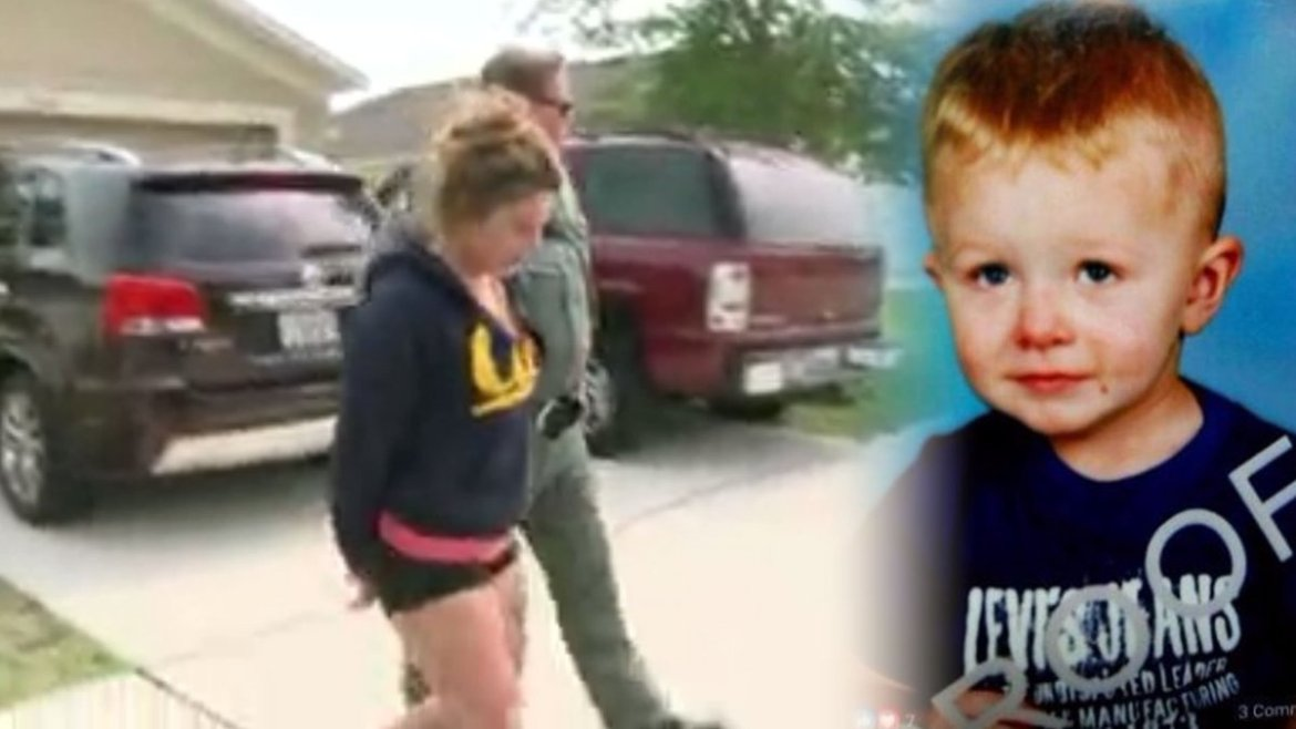 Mother arrested & charged with child neglect after her son disappeared from home & drowned