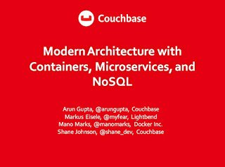 [blog] Modern Architecture with #Containers, #Microservices, and #NoSQL