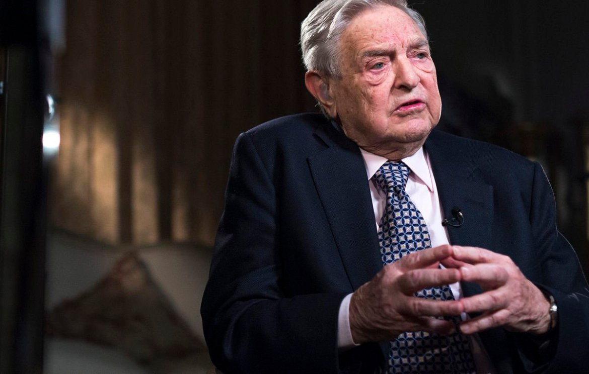 George Soros' latest big bet? A gold miner.  He's worth $24.4 billion