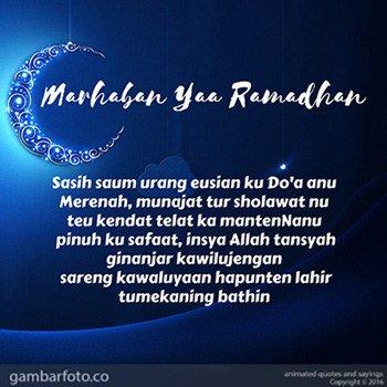 Kata Mutiara Menyambut Ramadhan Bahasa Sunda Ala Model Kini