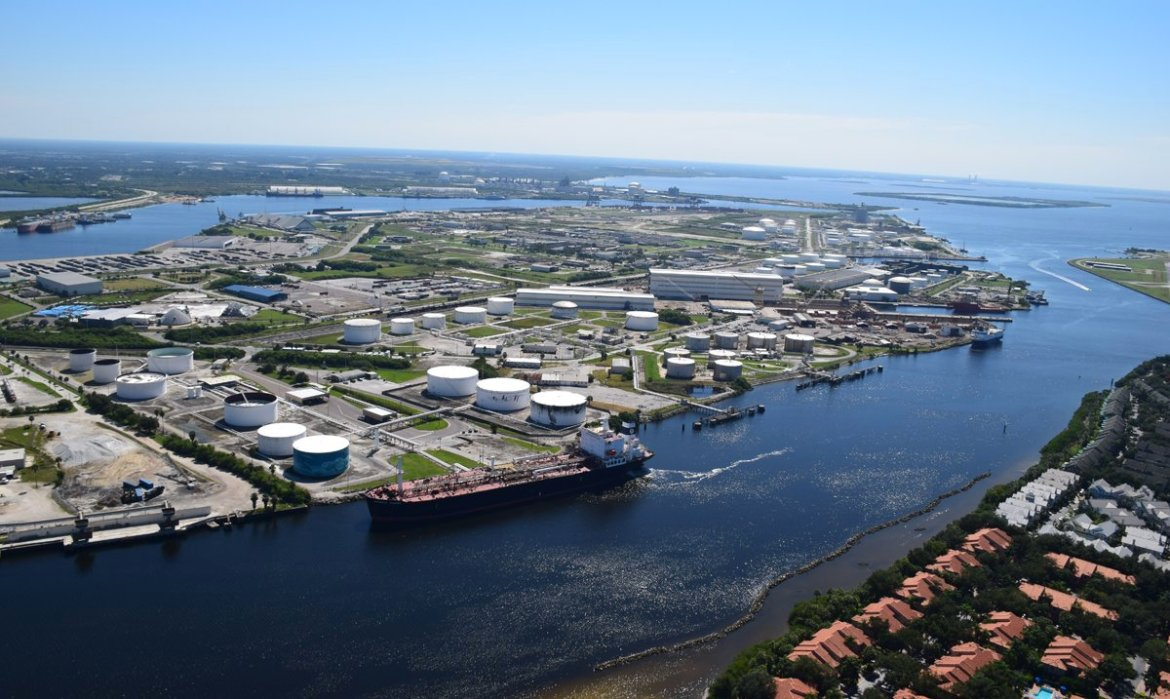 ICYMI: @PortTampaBay was named North America's Port Operator of the Year by @LloydsList!