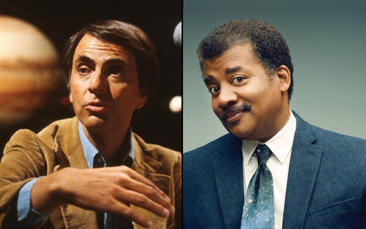 Carl Sagan Never Shared His Weed with @neiltyson   (from @mjdotc)