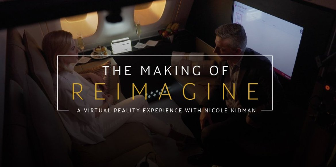 Watch how we created our Virtual Reality experience, starring Nicole Kidman:  #Reimagined