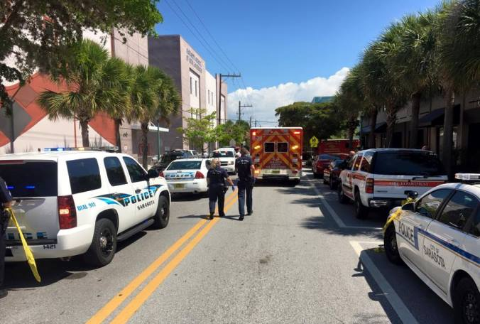 Sarasota Planned Parenthood facility evacuated after unknown substance located in building.