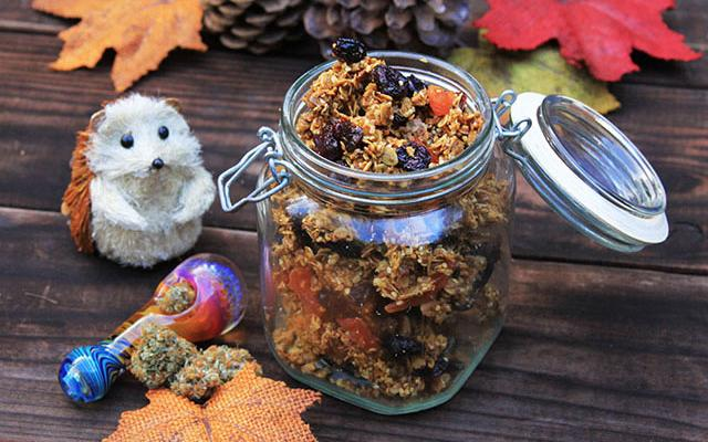 #My2WordAddiction - Ganja Granola! Get the Recipe Now: