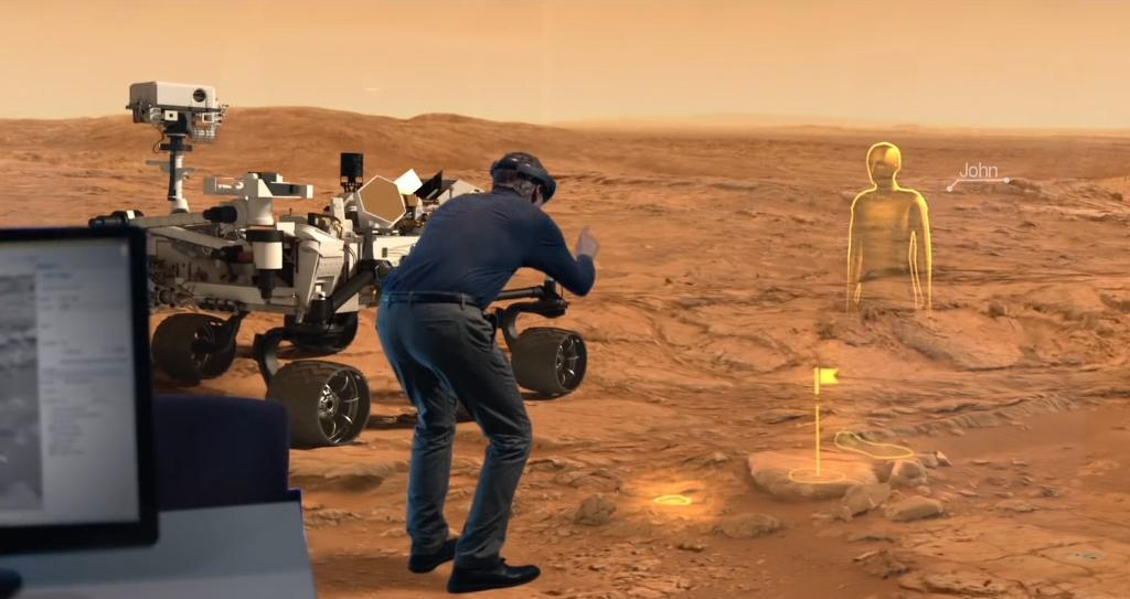 NASA-JPL scientists can walk on Mars with the help of HoloLens