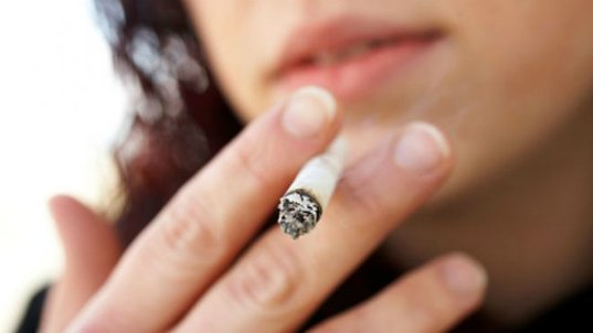 The CDC announced a record decline in adult smoking:
