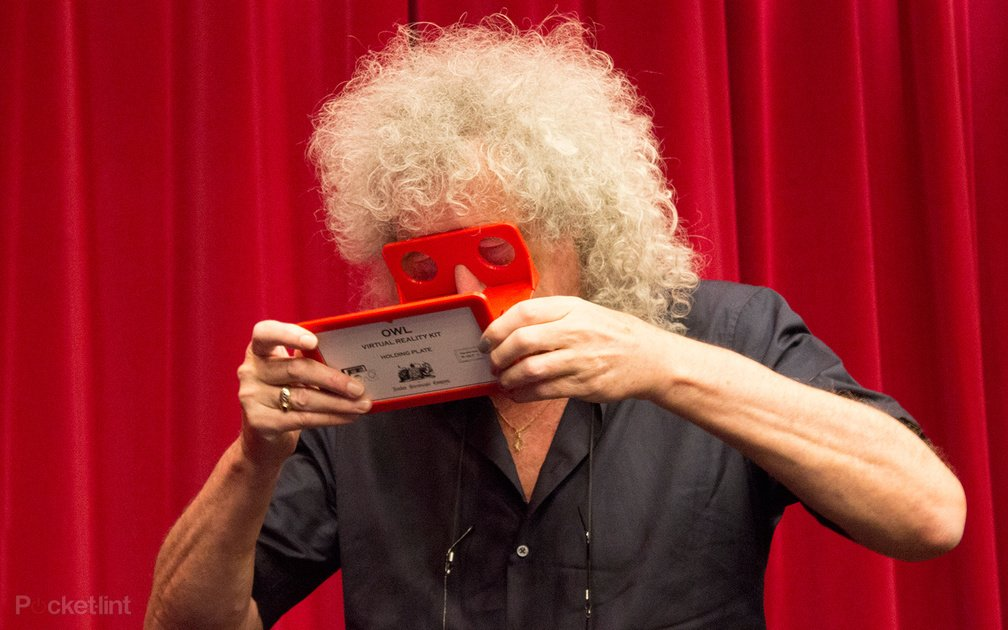 Brian May makes any smartphone #VR ready with his Owl Stereoscope