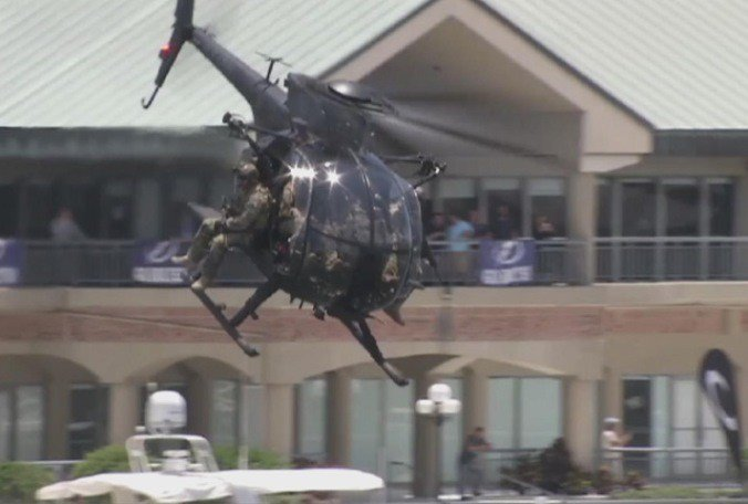 Special Forces demonstrations today in downtown #Tampa