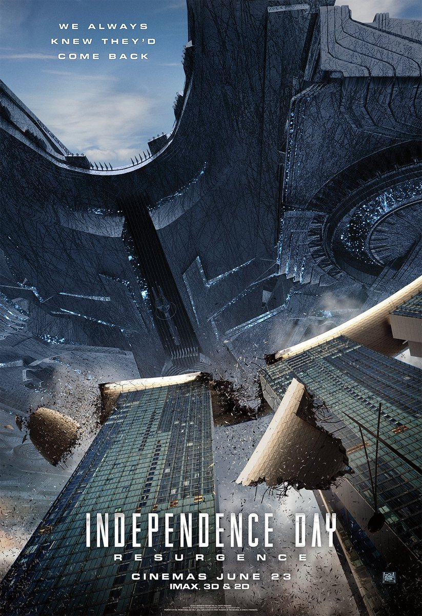 New Independence Day: Resurgence Posters Revealed 2