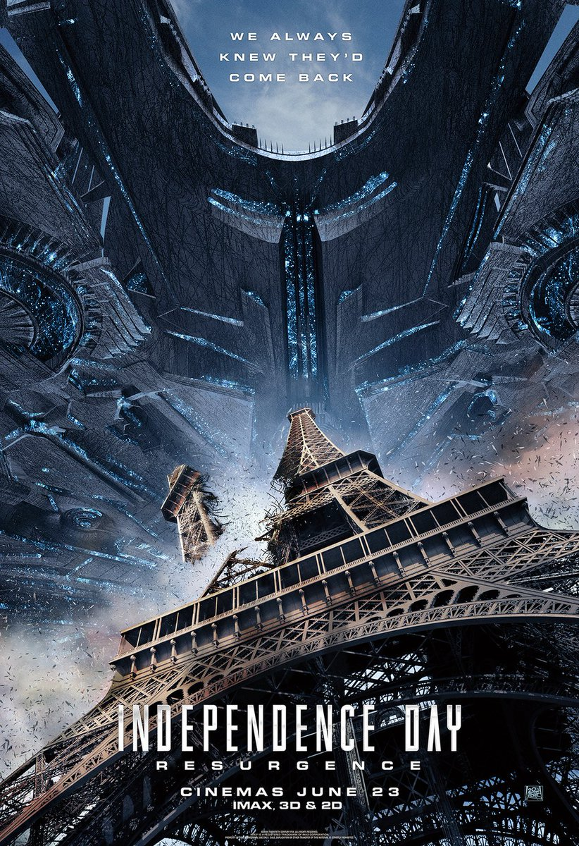 New Independence Day: Resurgence Posters Revealed 3