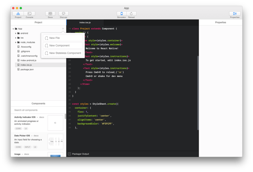 Best IDE for building React Native apps