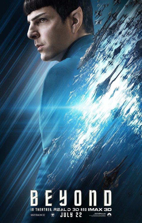 Star Trek Beyond Character Posters Revealed 7