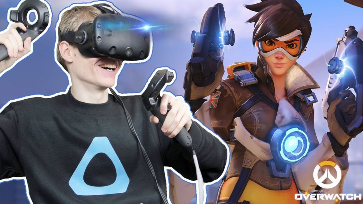 OVERWATCH WEAPONS IN #VR! | Overwatch: Guns Demo (HTC Vive Gameplay)