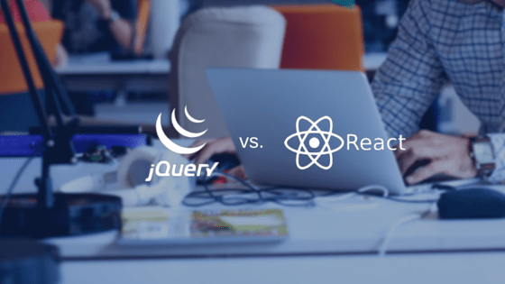 A quick look at JQuery Selectors vs. React Refs  #jquery #reactjs