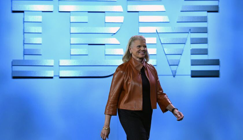 G.Rometty sees trillions in opportunity through #MachineLearning in next 10 years  #SD216 #AI