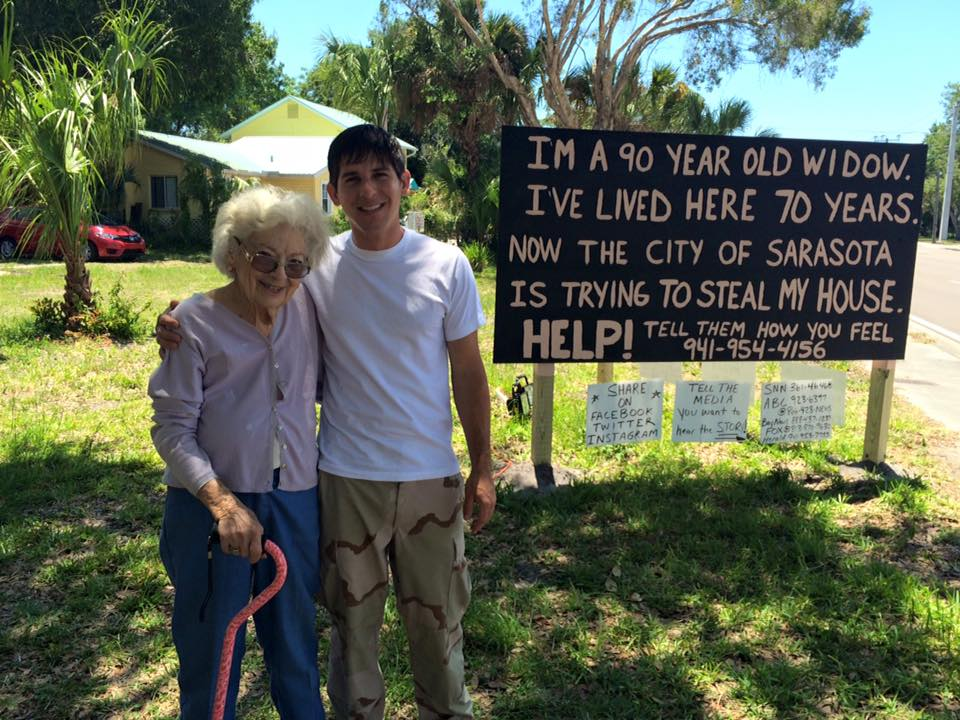 #Sarasota widow of a Veteran fights to save her home