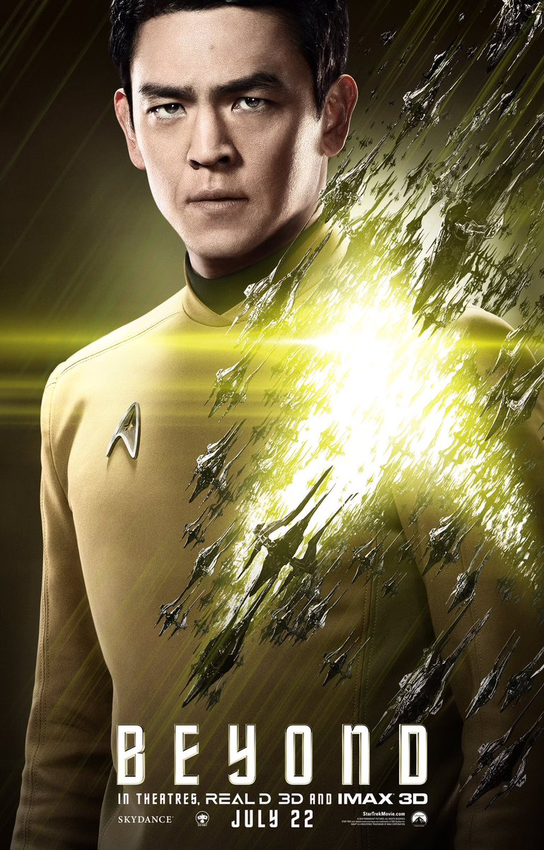 Star Trek Beyond Character Posters Revealed 4