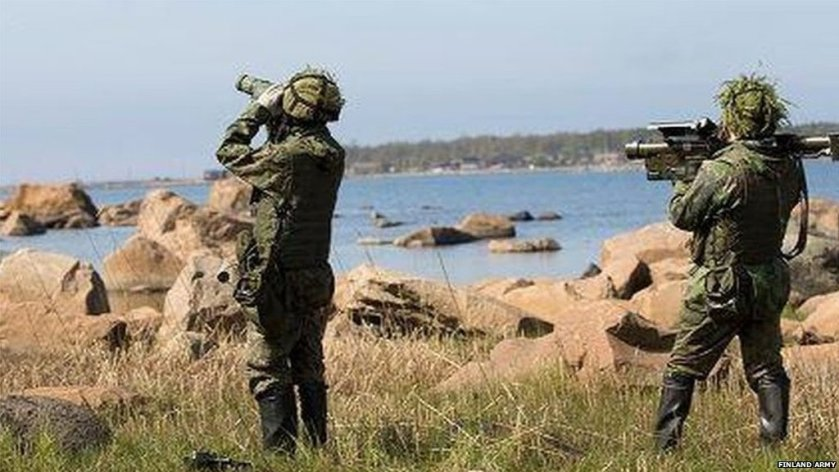 Finnish military exercise mistaken for real invasion