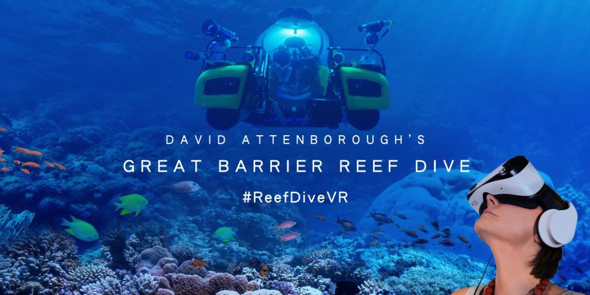 Missed out on #ReefDiveVR? This virtual reality experience returns to the Museum next week: