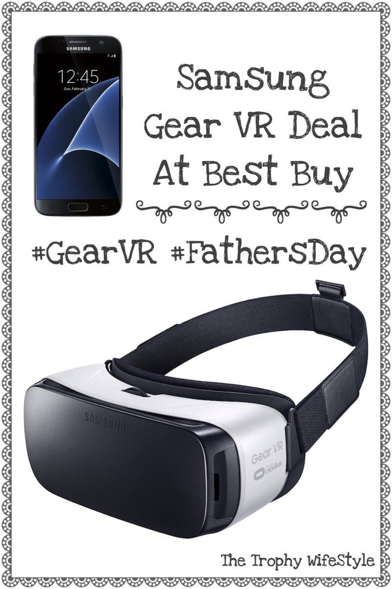 Need a fab Fathers Day gift idea? I have you covered!  @SamsungMobileUS @BestBuy #GearVR