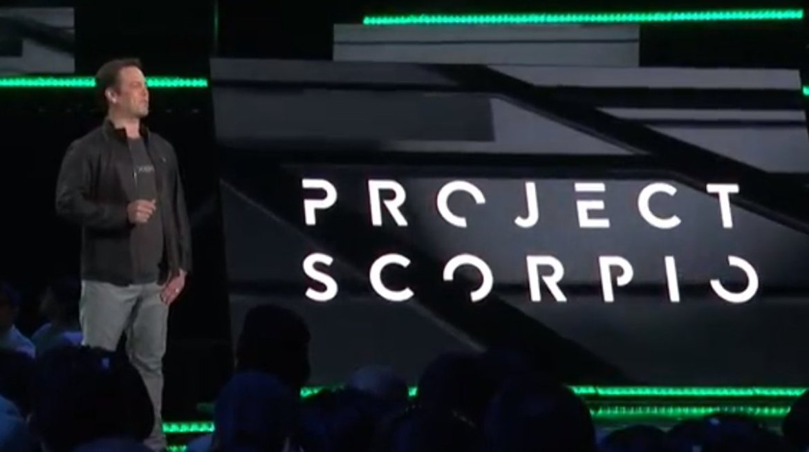 Microsoft confirm Xbox One #ProjectScorpio will have 4K resolution - & be ready for #VR:  #E3