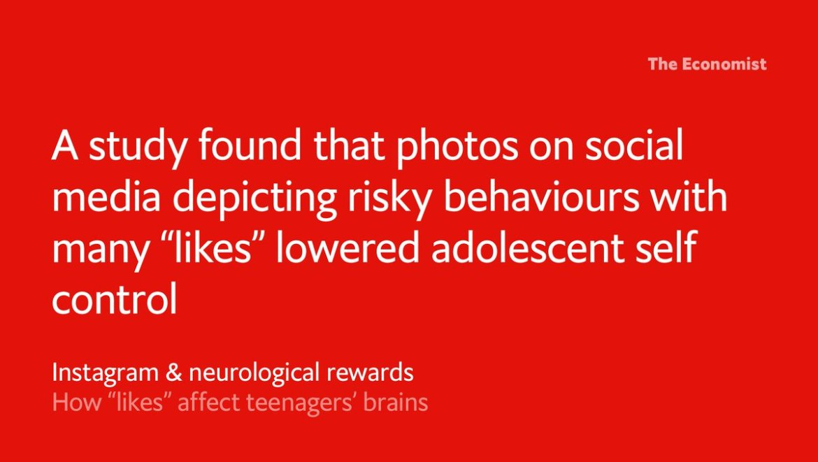 """How do """"likes"""" affect teenagers' brains?"""