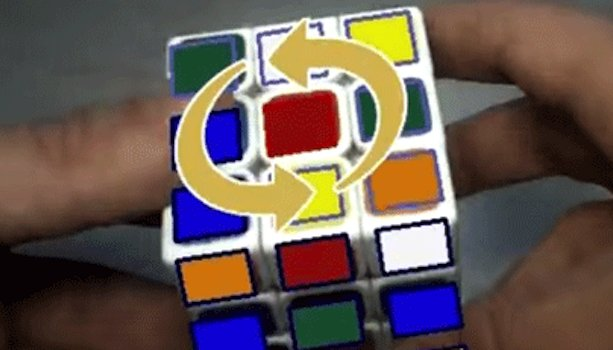 Augmented Reality Allows Anyone to Master a Rubik's Cube —