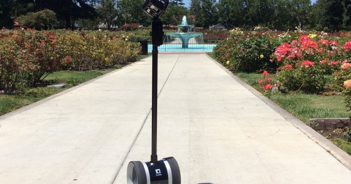 Double Robotics #VR #camera dolly keeps videographer out of footage