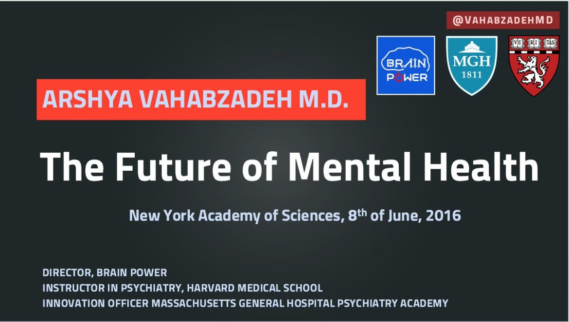 Excited to Keynote at  on the #Tech Future of #Psychiatry and Mental Health, #mhealth #VR #AR