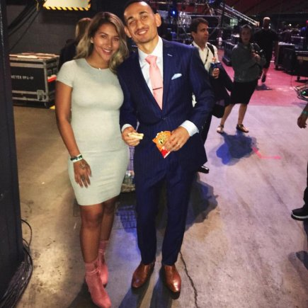 Image result for max holloway wife