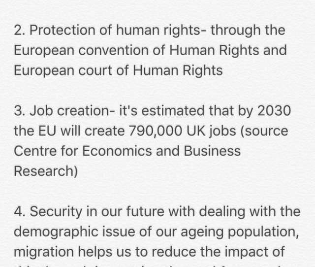 I Understand Your Tweet Wasnt Directed At Me But Here Are Just A Few Reasons Strongerin Eurefpic Twitter Com Jzrgsm