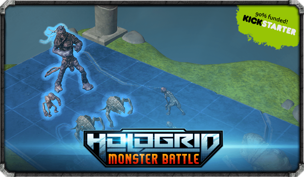 50 HOURS LEFT & 91% BACKED! WE'RE SO CLOSE!!! LETS KEEP IT GOING! TY! #HoloGridMonsterBattle