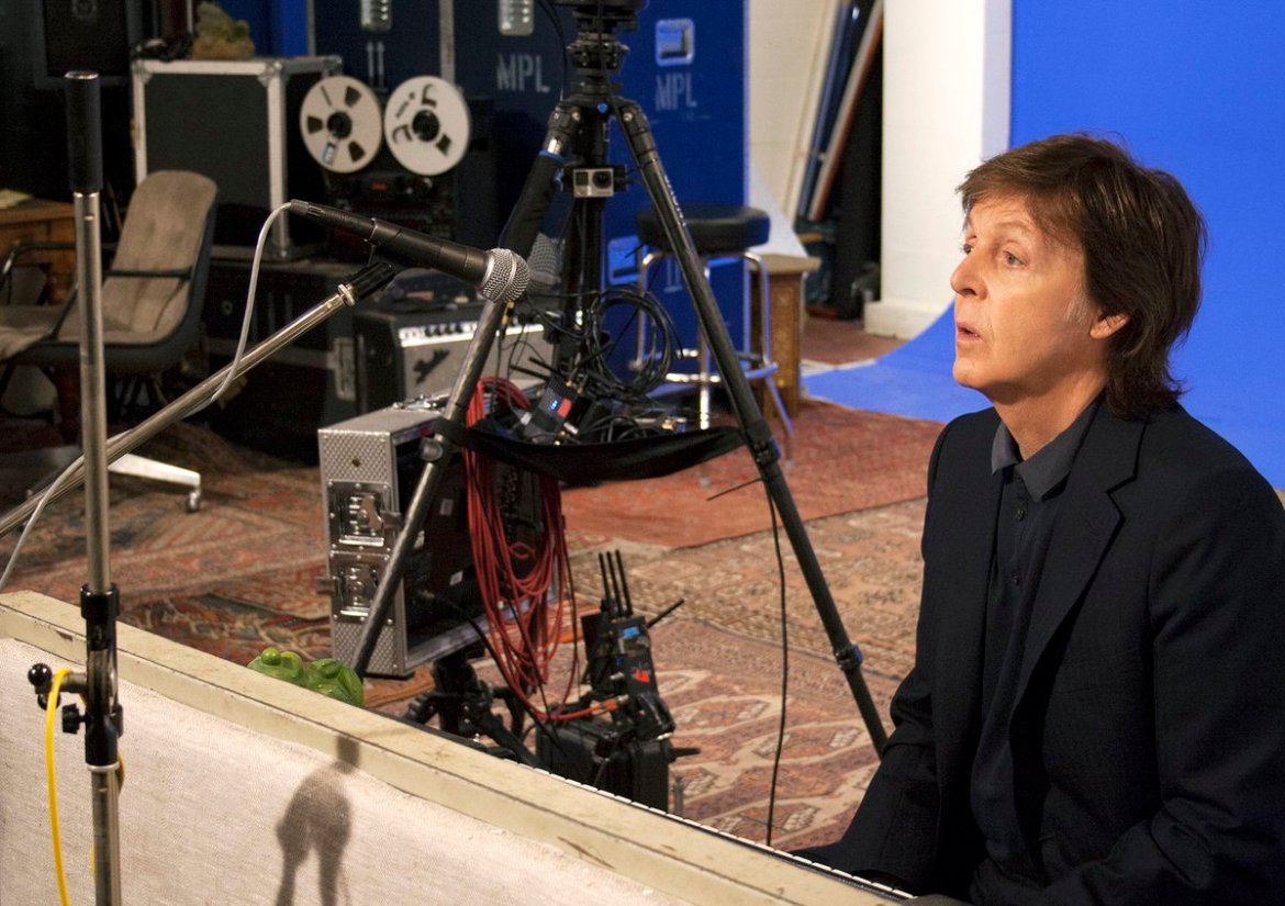 Paul talks of @thebeatles Early Days in this new virtual reality documentary  #PureMcCartney