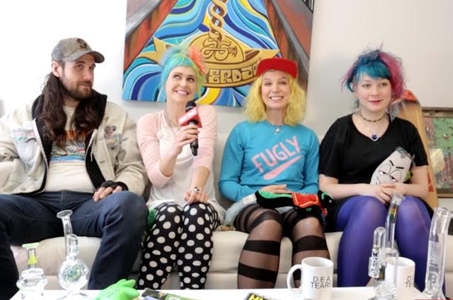 #WATCH - The HIGH TIMES Interview: #Tacocat @TacocaTs