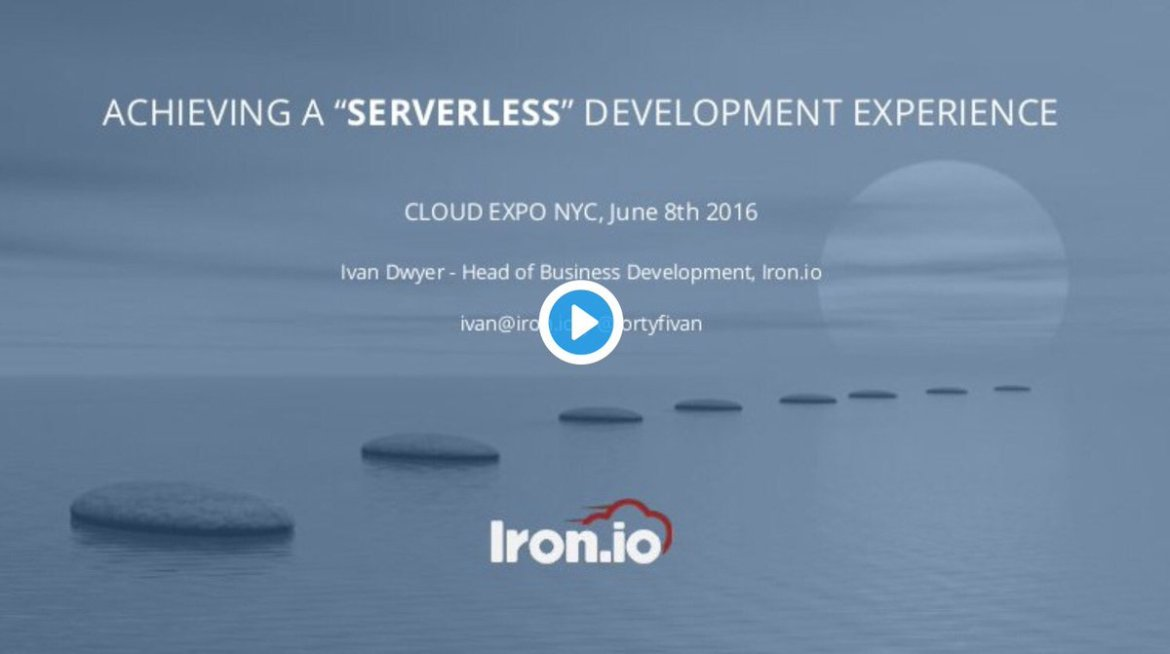 Slides: #Serverless Development ▸  @fortyfivan #BigData #DevOps #IoT #DigitalTransformation