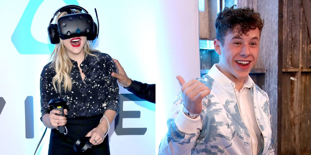 Chloe Moretz & Nolan Gould hit the Alienware Party in LA