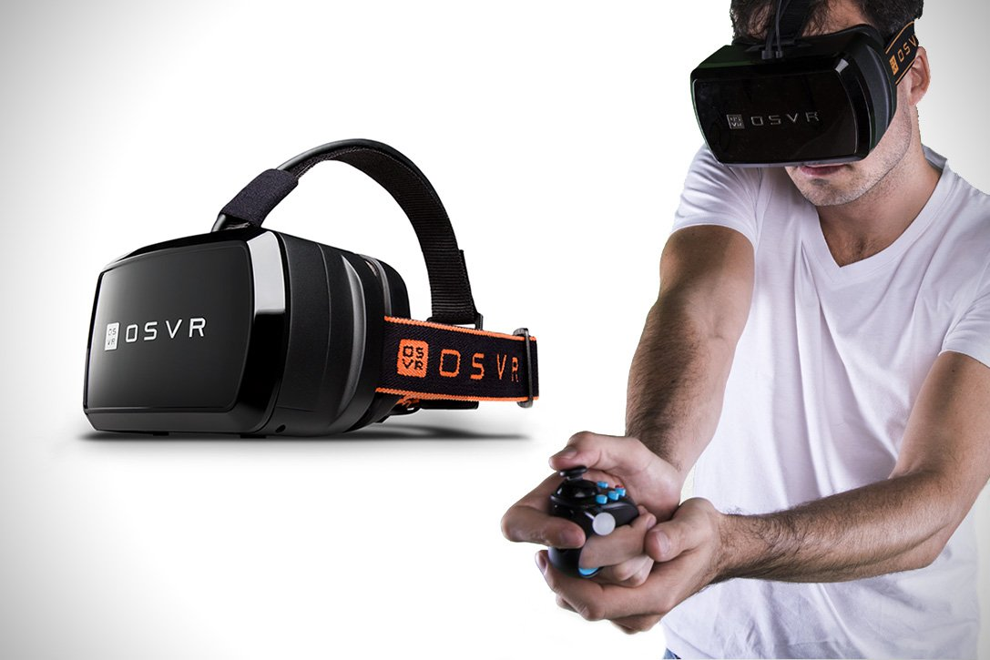 Razer's Open Source #VirtualReality (OSVR) HDK2 headset is #hacker friendly.  #gadgets #tech