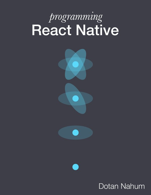 Programming React Native  by @jondot is the featured book on !