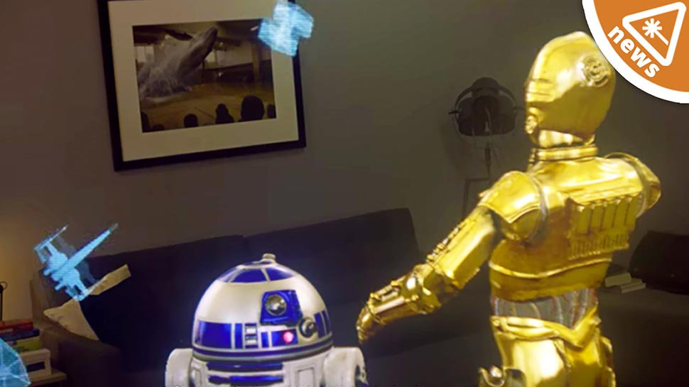 This new #StarWars augmented reality is jaw-dropping: