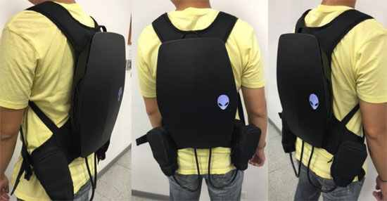 Dell are working on a backpack gaming PC for #VR - so cool, gaming on the move  #iot #cloud