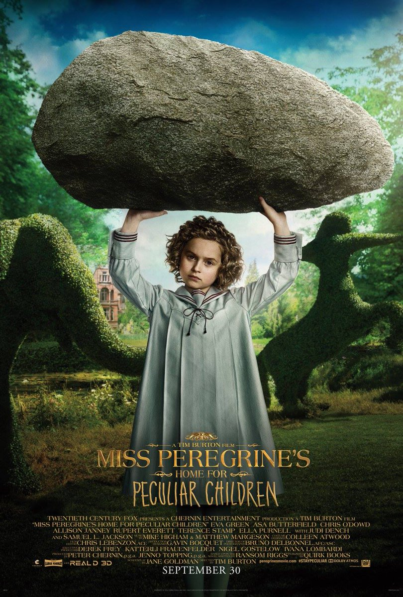 Miss Peregrine's Home for Peculiar Children Character Posters Unveiled 8