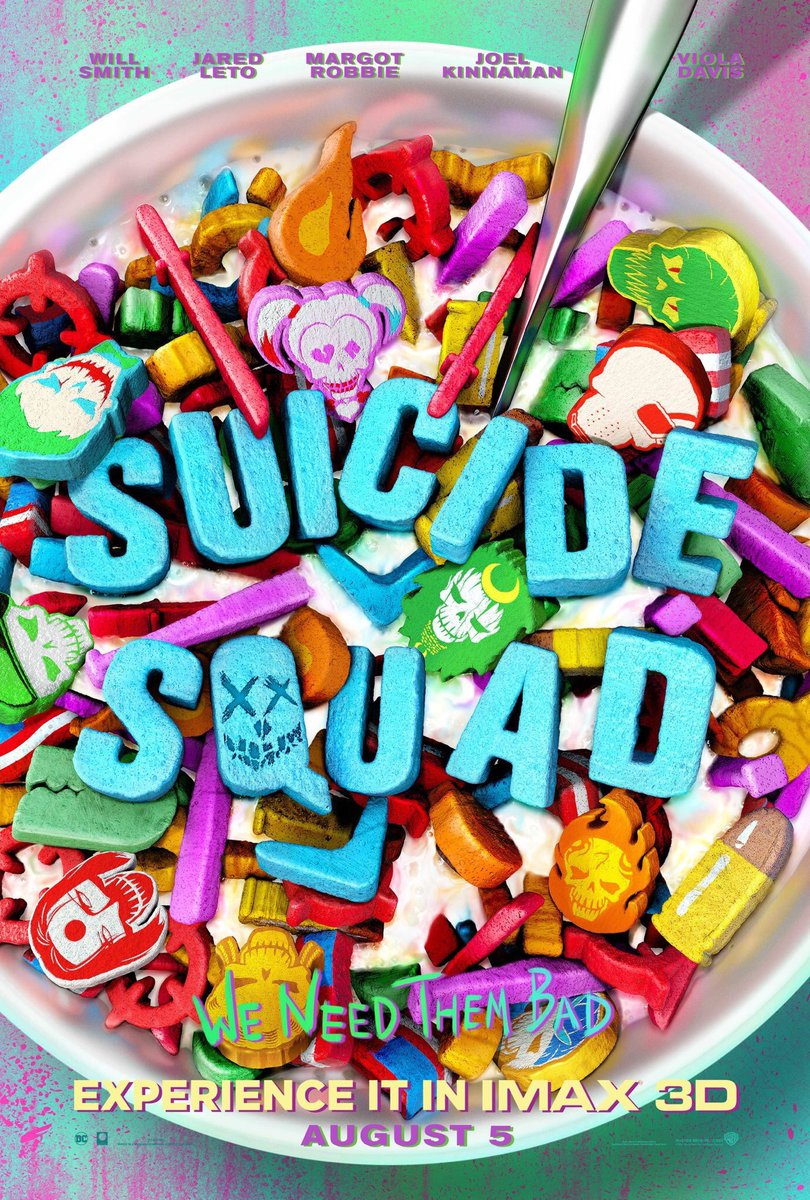 We Re All Mad Here New Suicide Squad Posters And Music Video