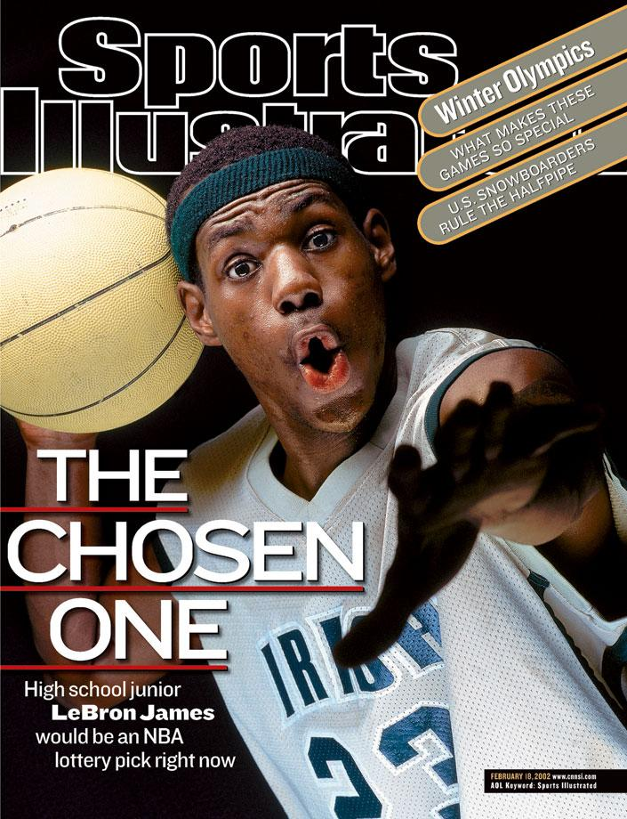 LeBron James has graced our cover 25 times. Check out all of them right here: