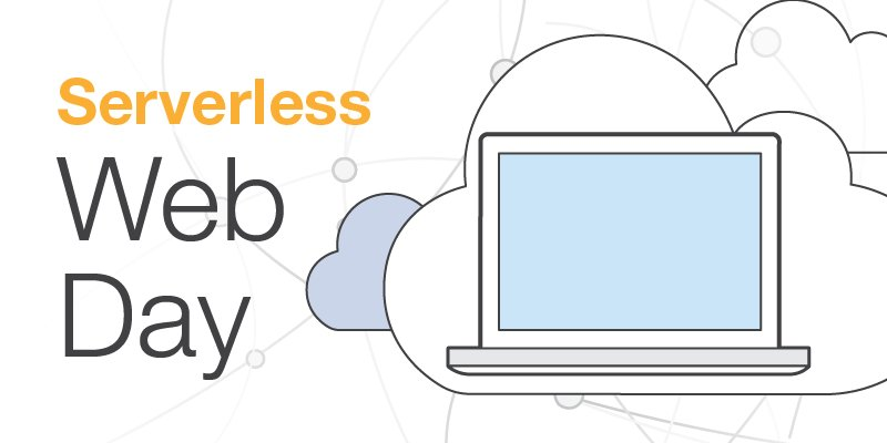 Register for Serverless Web Day & learn about AWS Lambda, API Gateway & the AWS IoT Button!
