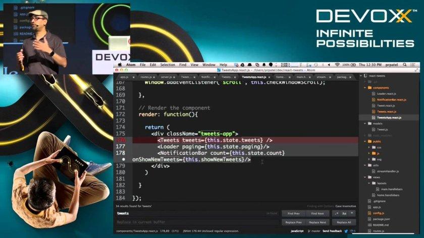 React.js: Super-fast Single Page Web Applications Bk149quB ☞   #nodejs