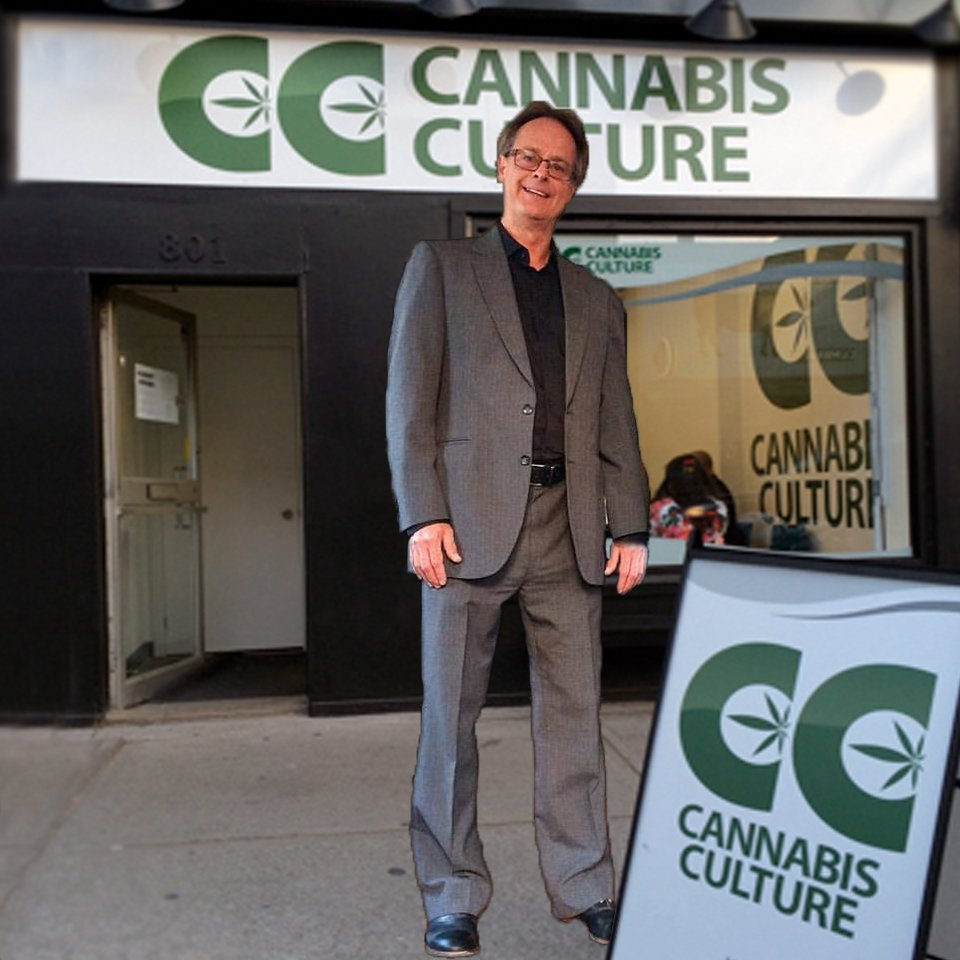 NEWS ALERT: Marc Emery is flying to #Toronto to re-open #CannabisCulture 801 Queen St W 10am