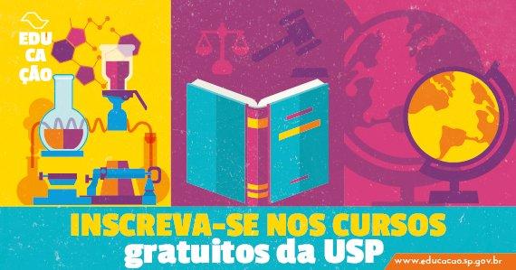 Resultado de imagem para Aproveite as férias para fazer cursos online e gratuitos da USP