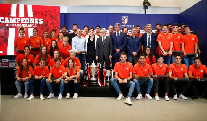 La Academia Atlético de Madrid