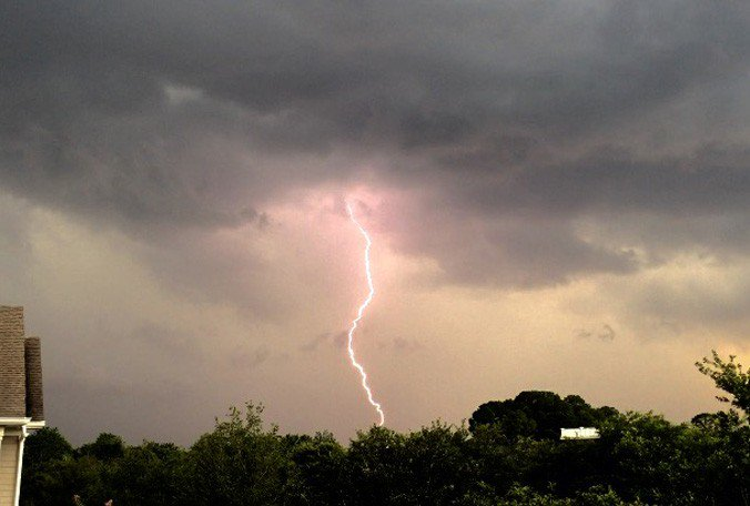 Do you have outdoor plans for the Fourth of July (duh)? Lightning safety is key.